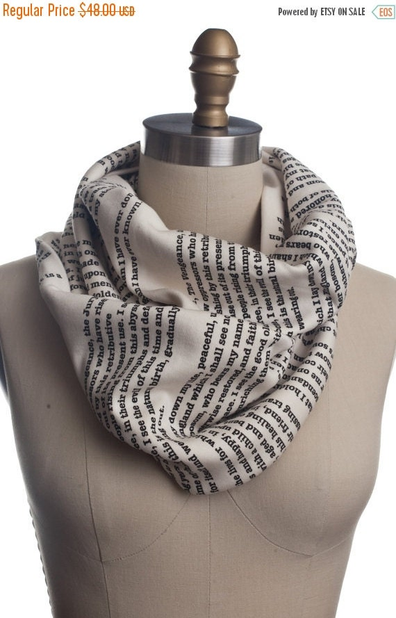 ON SALE: A Tale of Two Cities Book Scarf