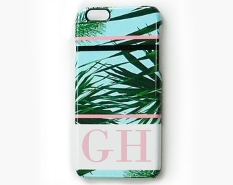 Monogram phone case - for iPhone 7, iPhone 6 plus, iPhone 5/5s, iPhone 4/4s, Samsung Galaxy S3, Samsung Galaxy S4, Samsung Galaxy S5