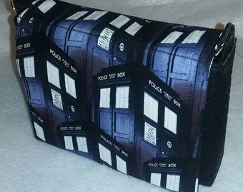 Doctor Who TARDIS Handbag (repeat pattern)