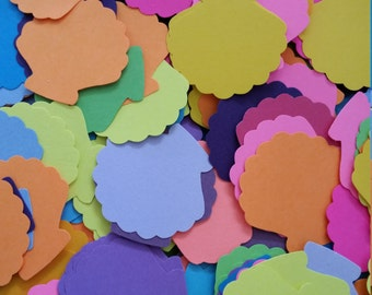 Sea shell paper punchies