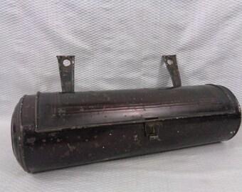 Primitive 19th Century Tin Candlebox