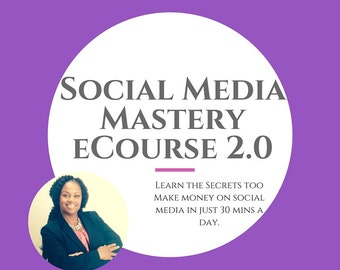Social Media Coaching. Course. Videos and PDF Guide . Small Business.  Coaching. Social Media. Sales. Marketing. Entrepreneurship. MBA.