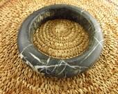 Antique Granite (Gneiss) Bangle