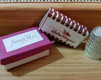 DS-1    Miniature shoe box set of 2