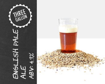 English Pale Ale 3 Gallon Beer Recipe Kit