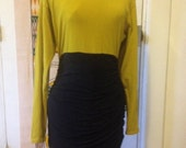 Westonwear duo color block dress size small cotton/lycra blend