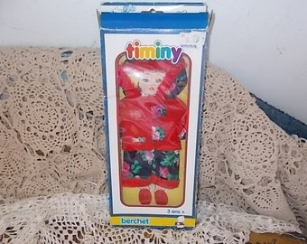 Timiny Berchet Doll Clothes from France ,Doll Clothess ,Vintage Doll Clothes,Dolls,S/Not Included in Coupon Sale