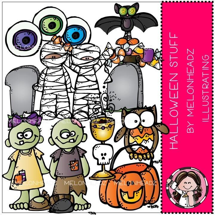 Halloween Stuff clip art