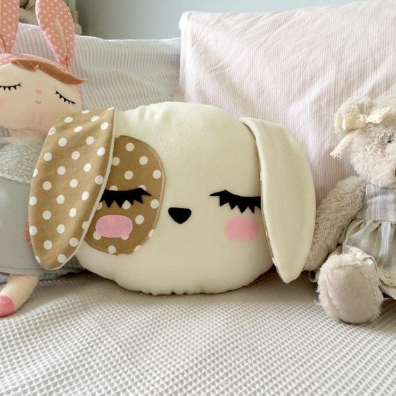 Animal Pillow For Baby : Dog Pillow Nursery Decor Kids room Dog Cushion Kawaii Dog