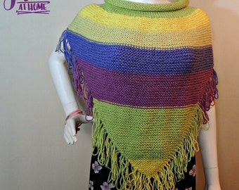Becky Cowl ~ Knit PATTERN PDF ONLY Adult Woman
