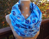 Kansas City Royals MLB Infinity Scarf Adult Sells out fast!  LAST ONE, before backorder.