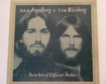Dan Fogelberg & Tim Weisberg - Twin Sons of Different Mothers - Epic Full Moon Records 1978 - Vintage Gatefold Vinyl LP Records