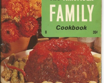 Vintage American Family Cookbook From the Culinary Arts Institute