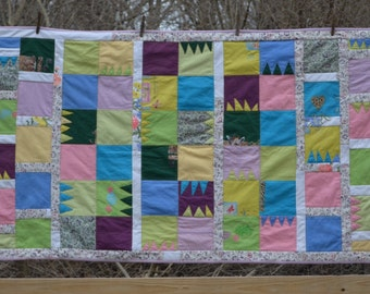Memory Quilt Made From Recycled Clothing