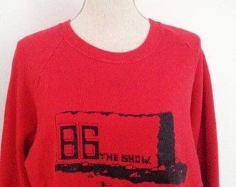 Vintage 1986 DHS Variety Show Sweatshirt