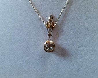 Edwardian Period Necklace - Downtown Abbey Jewelry - Halleys Comet