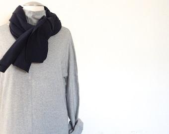 NEW Day Dress / Casual Dress /  Knit Jersey Dress / Heather Grey Dress /  Midi Dress