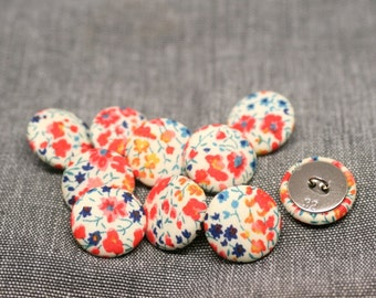 Liberty of London Phoebe Fabric Covered Buttons