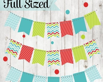 80% OFF - INSTANT DOWNLOAD, Christmas Banner Printable, Christmas Flags, Christmas Party