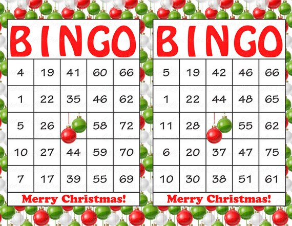 il_570xn - Christmas Bingo Printable