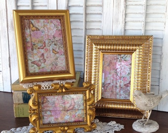 Bright Gold Table Top Frames - 5x7 4x6 3x5