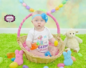 My First Easter, First Easter Shirt, Easter, First Easter, Baby Shower Gift, Girl Easter Shirt, Girl First Easter, Girl Easter Outfit