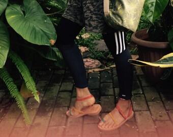 Trendy Women Leather Sandals
