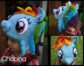 Rainbow Dash (or any other) My Little Pony Hat