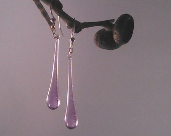 Amethyst Raindrop Earrings