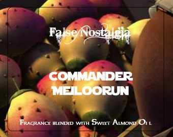 Commander Meiloorun - SW inspired perfume fragrance - Rebels