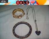 SALE 60% Off Vintage Jewelry lot, vintage lot of wearable pieces