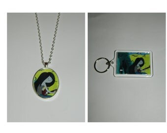 Adventure time Marceline Keychain or Necklace