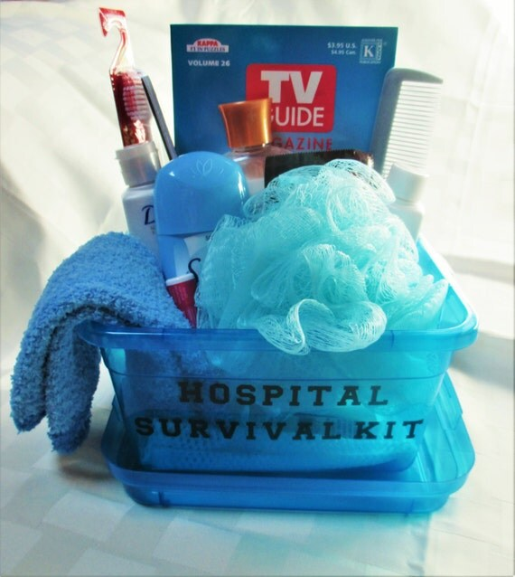 Mother And Baby Gifts Delivered Uk : Hospital survival kit new mom gift baby by christinasbabygifts