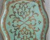 Vintage Tray, Romantic Home, Shabby Chic, Prairie Style, Bohemian