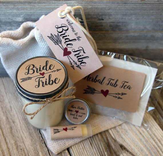 Bride Tribe - Bridesmaid Proposal Gift//Will you be my Maid of Honor Gift//Bridesmaid Proposal Bag //Maid of Honor Candle//Bachelorette Gift