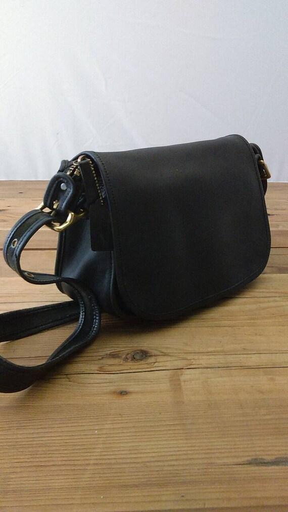 Vintage Leather Crossbody Bag 10