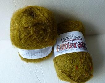 Yarn Sale  - Olive 03 Glitteratzi by Cascade Yarns