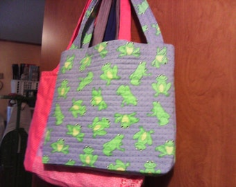Handcrafted Fabric Tote