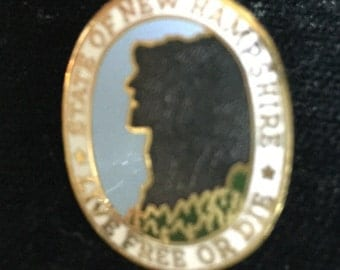 Live Free or Die N.H.pin