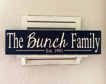 Family Established sign