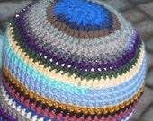 SCRAP HOMELESS CROCHET Beanie hat
