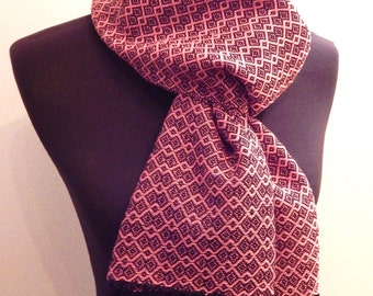 Handwoven Scarf, cotton