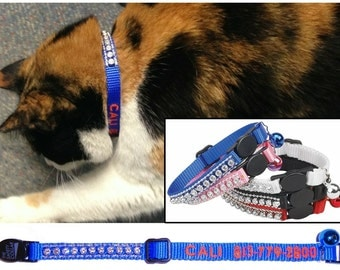 Embroidery ~ Cat Collars