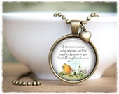 Friend Long Distance • Best Friend Necklace • Going Away Friend Gift • Literary Inspired