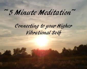 Guided Meditation Tool, Guided by Voices Guided Imagery for Self Improvement, You Are Blessed Instant Mp3 Download to Connect w Crown Chakra