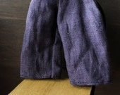 Blythe Doll Outfit /  1/6 doll size /  cropped pants/ ancient purple