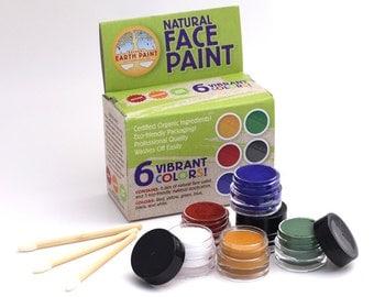 Natural Face Paint Kit