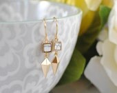 The Dionne Earrings - Gold