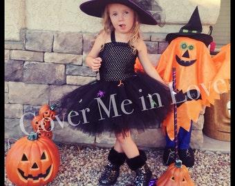 Little Witch tutu dress costume sz 9 mo -7