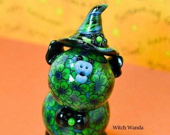 Witch Wanda Polymer Piglet